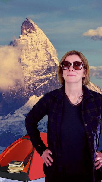 Whether digging deep into her research on Ghana, or pursuing her alpinist passions, Dr. Ann Reed is always forging a new path.